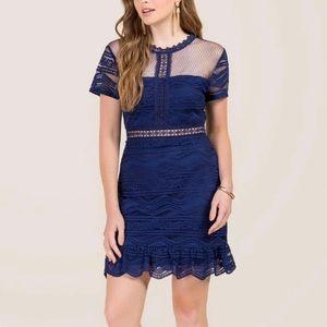 Francesca's Lace cut out dress